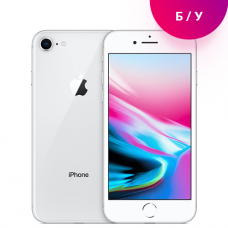 Смартфон Apple iPhone 8 64 GB Silver Б.У.  Original