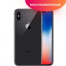 Apple iPhone X 64 GB Space Gray Без Face ID Восстановленный