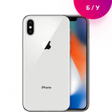 Смартфон Apple iPhone X 64GB Silver Б.У