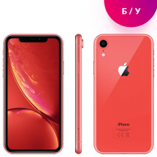 Смартфон Apple iPhone XR 64GB Corall