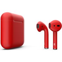 Наушники Apple AirPods Red Matte Красный матовый