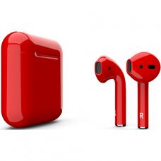 Наушники Apple AirPods Red Gloss Красный глянец