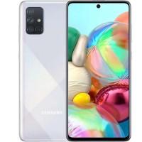 Samsung Galaxy A71 6/128 GB серебристый