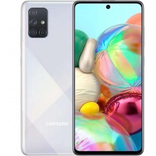 Смартфон Samsung Galaxy A71 6/128 GB серебристый